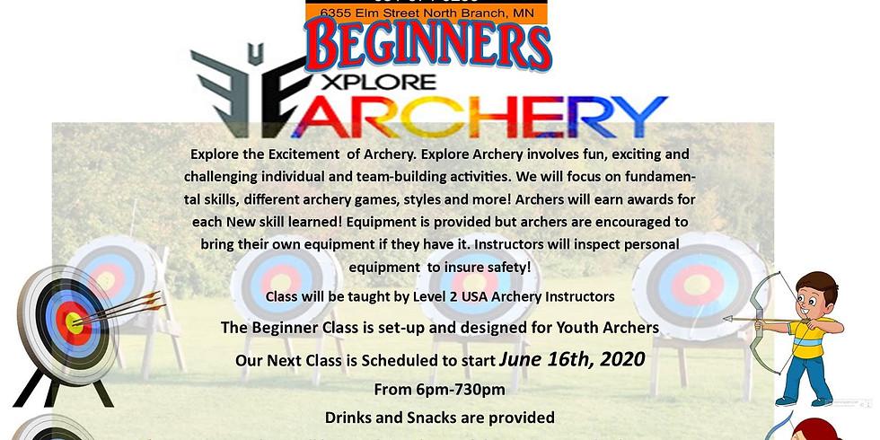 Beginners Explore Archery Class- November 10th-24th