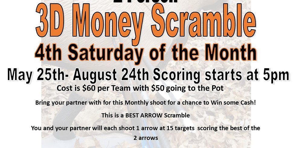 5/24/19 2-Person 3D Money Scramble