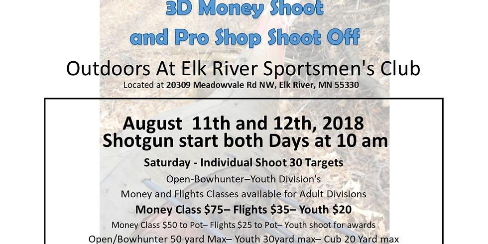 2018 3D Money Shoot & Pro Shop Shoot Off