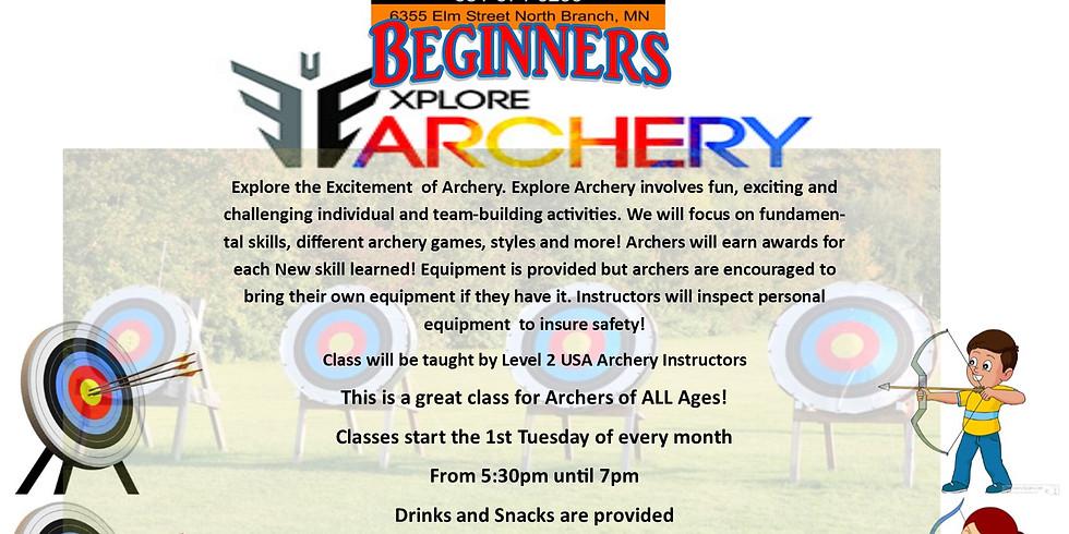 Explore Archery Beginner Class - 4/6/2020