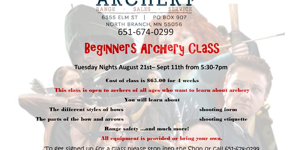 Beginner Class- Tuesday Nights