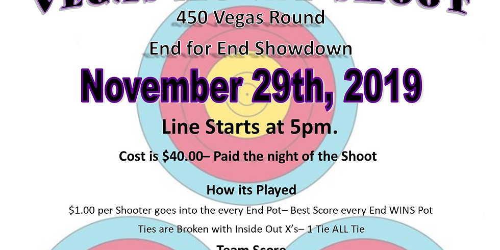 2019 Black Friday Vegas Money Shoot