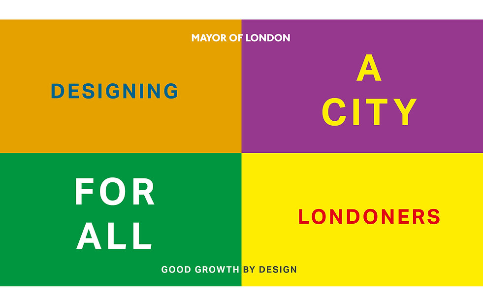Unscene Architecture participate in Designing a City for all Londoners event