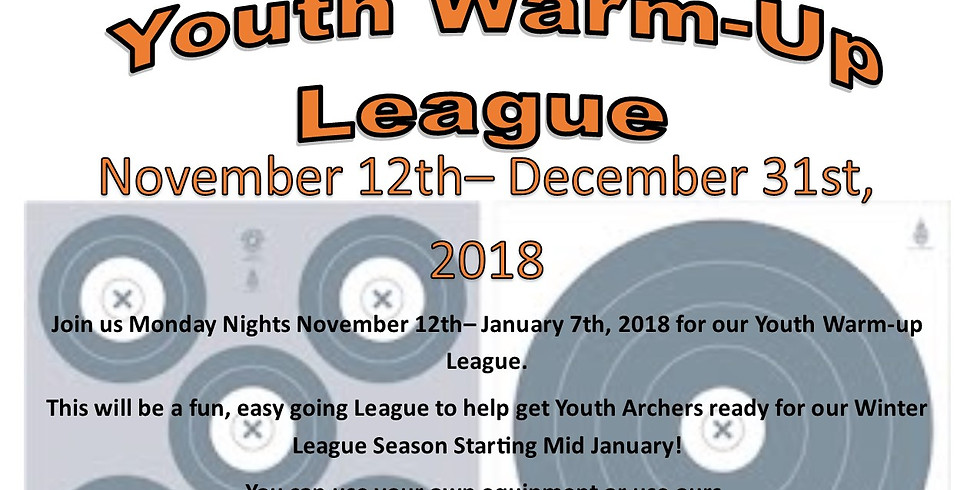 Monday Night- Youth Warm-up League
