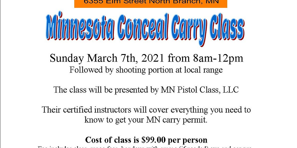 Minnesota Conceal Carry Class
