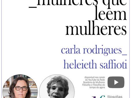 Mulheres que leem mulheres: Carla Rodrigues lê Heleieth Saffioti