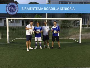 E.F.Mentema Boadilla tendrá un equipo Senior en Tercera Aficionados