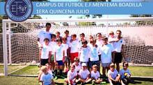 Campus de fútbol de verano: Cerramos la primera quincena