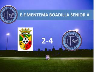 Victoria!! Escuela Fútbol Boadilla: Senior A E.F.Mentema Boadilla
