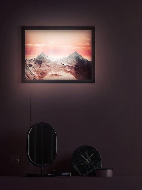Rays on Terrian   Lightbox