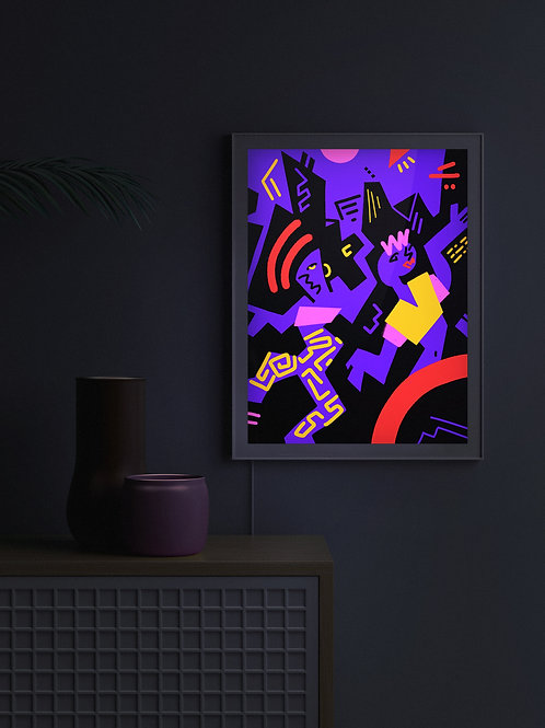 CrazyDance | Lightbox