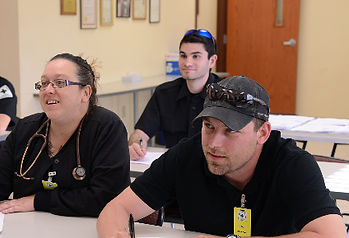 Students in EMT Class at Central Oneida County Volunteer Ambulance Corps