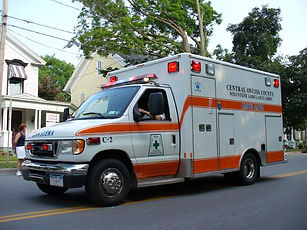 Ambulance Transport to the Hospital