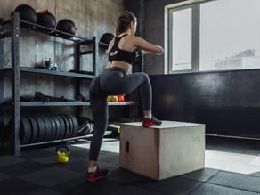 Box Jump Lunge