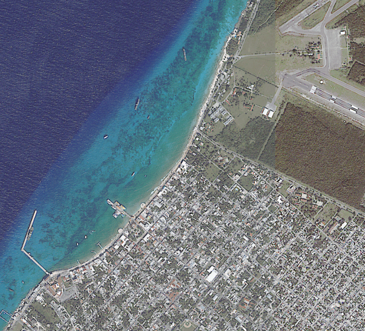 Imagen satelital Ikonos 4 mettros