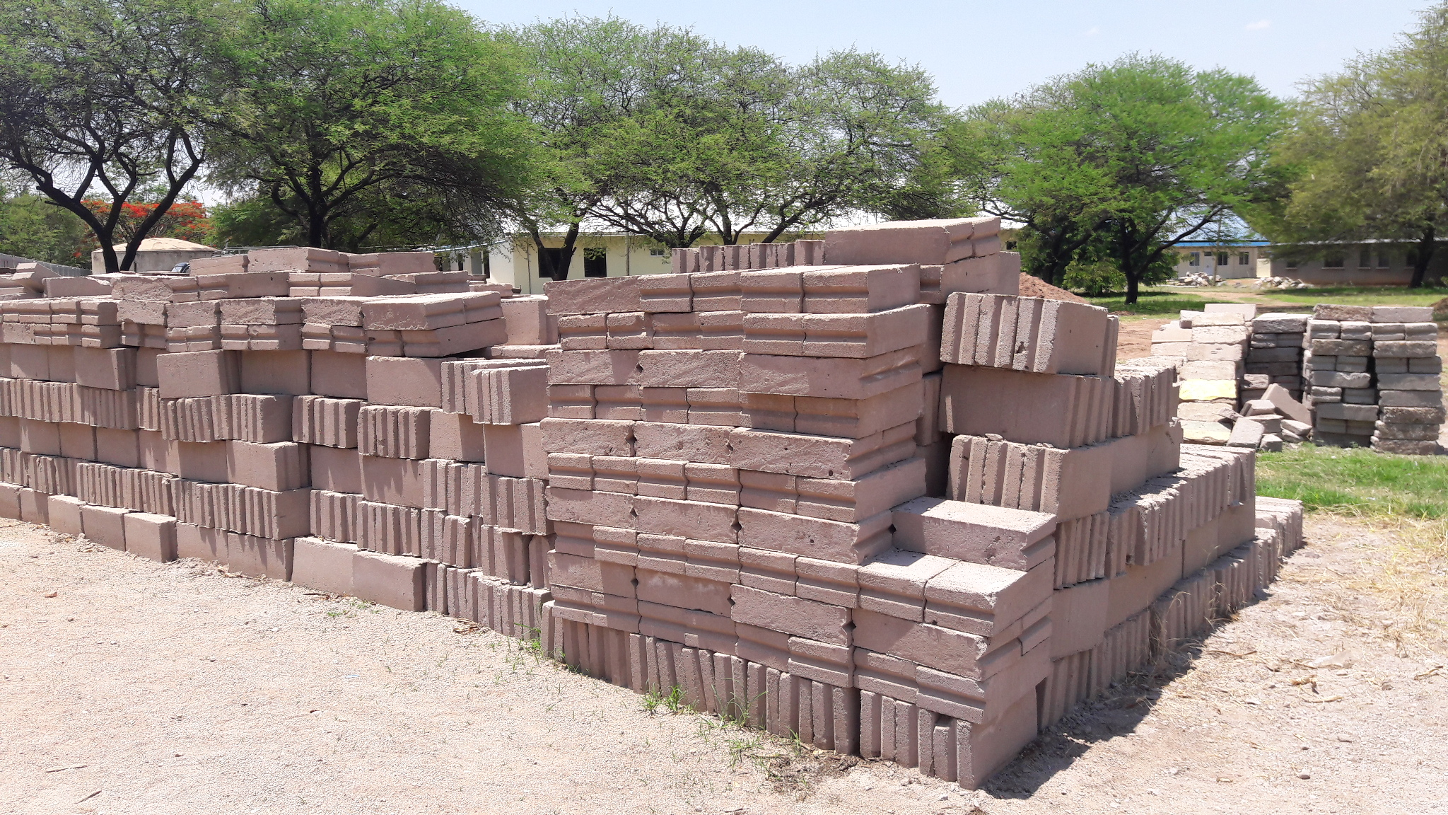 Blocks for the Chaplains home (Father Paul)