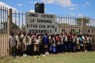 """Kituo Cha Afya Songambele"" - translates to ""Songambele Health Center"""