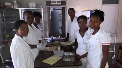 Student nurses Learning Practicals