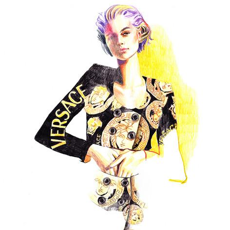 Kaia Gerber / Versace