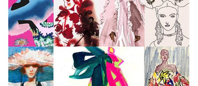 7 иллюстраторов рисуют одежду для VOGUE/ Мое впечатление