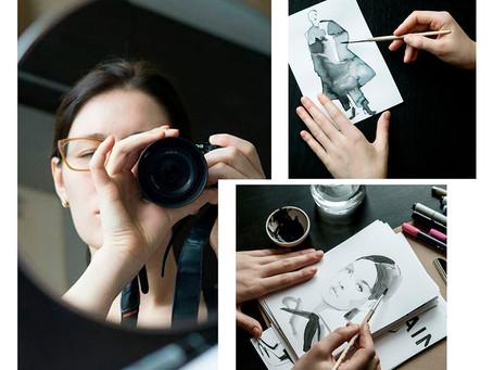 Интервью с fashion иллюстратором Еленой Захаровой