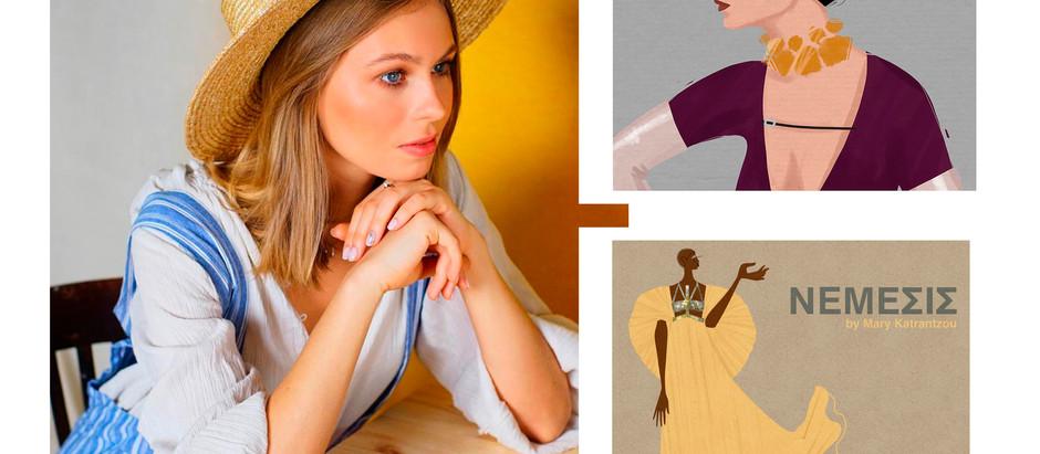 Интервью с fashion иллюстратором Яной Скакун
