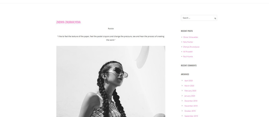 "Interview for the ""Beauty Hub Magazine""/ Боль, которая делает нас сильнее"