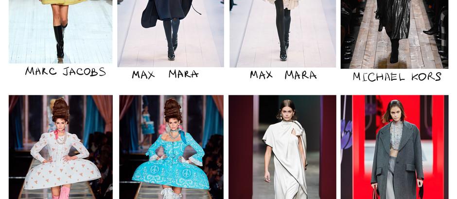Во что «нарядили» Каю Гербер дизайнеры на показах Fall 2020 Ready-to-Wear? Обзор/Мое мнение