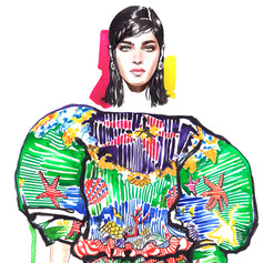 Versace 2020 for GRAZIA INTERNATIONAL