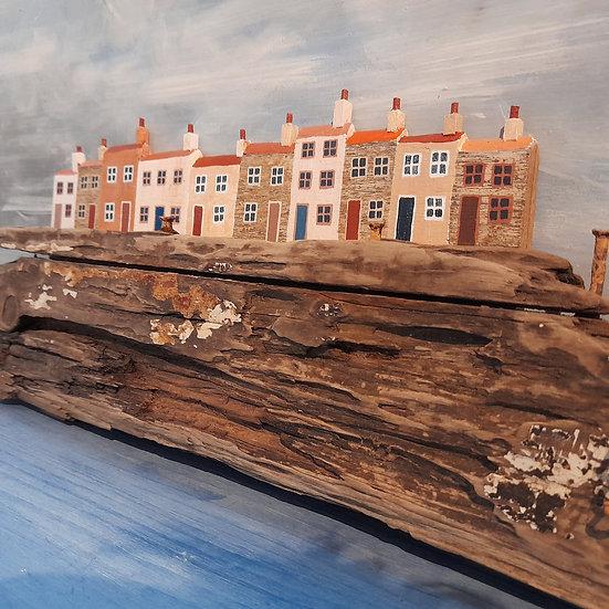 Harbour View                25cm(h)x65cm(w)x6cm(d)