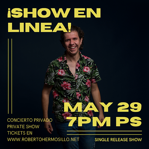 Show Ticket + Single Download.Mayo 29