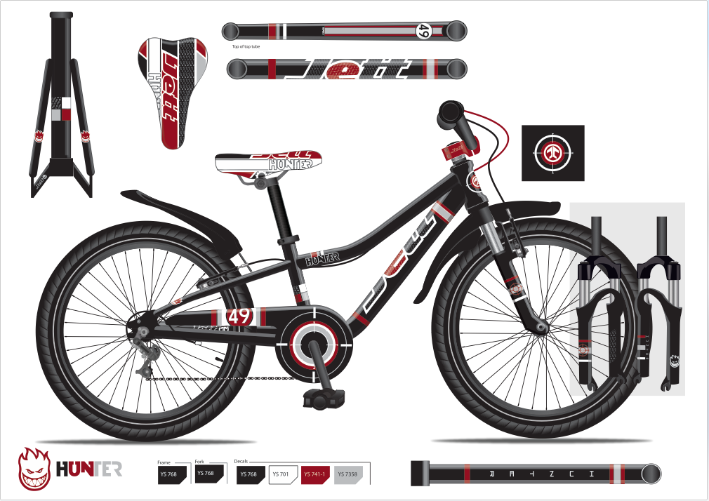"Jett 14"" boys bike"