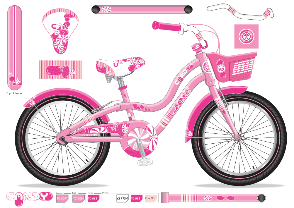 "Girls 12"" bike"