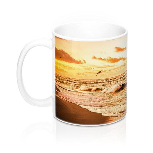Mug Golden Beach 11oz