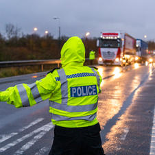Police assist with traffic management plan