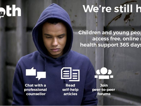 Free online support service extended to all young people on county