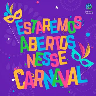 Carnaval no Aquário