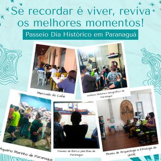 Passeio Dia Histórico em Paranaguá