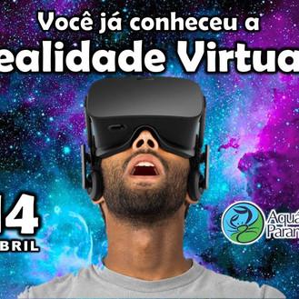 Realidade Virtual no Aquário de Paranaguá