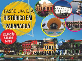 Passe um dia histórico em Paranaguá