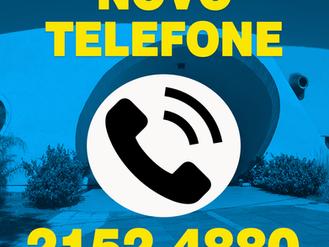 NOVO TELEFONE