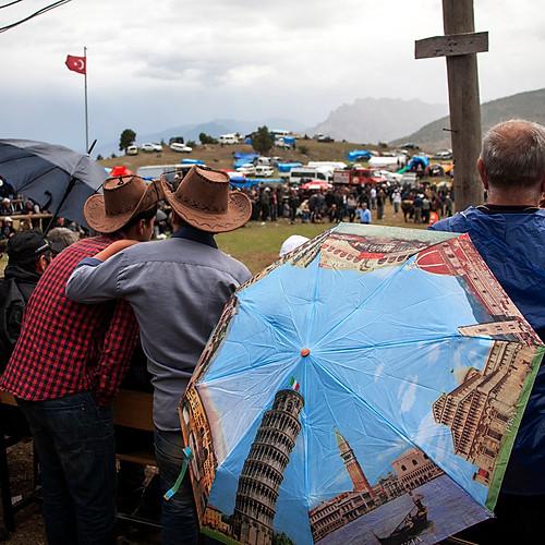 Bullfight Festival in Artvin