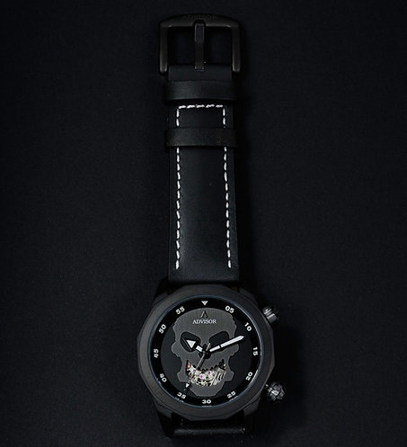 "Ascent ""Mr Skull"" Black Limited Edition Automatic"