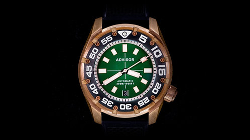 """Supa Diver Bronze """"Green Monster"""" Limited Edition"""