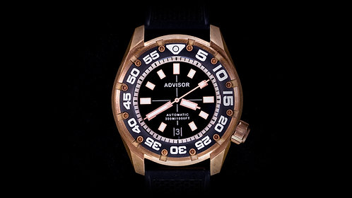 "Supa Diver Bronze ""Black Sea"" Limited Edition"
