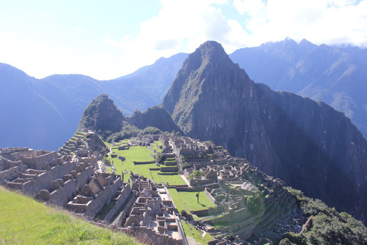 Incan citadel