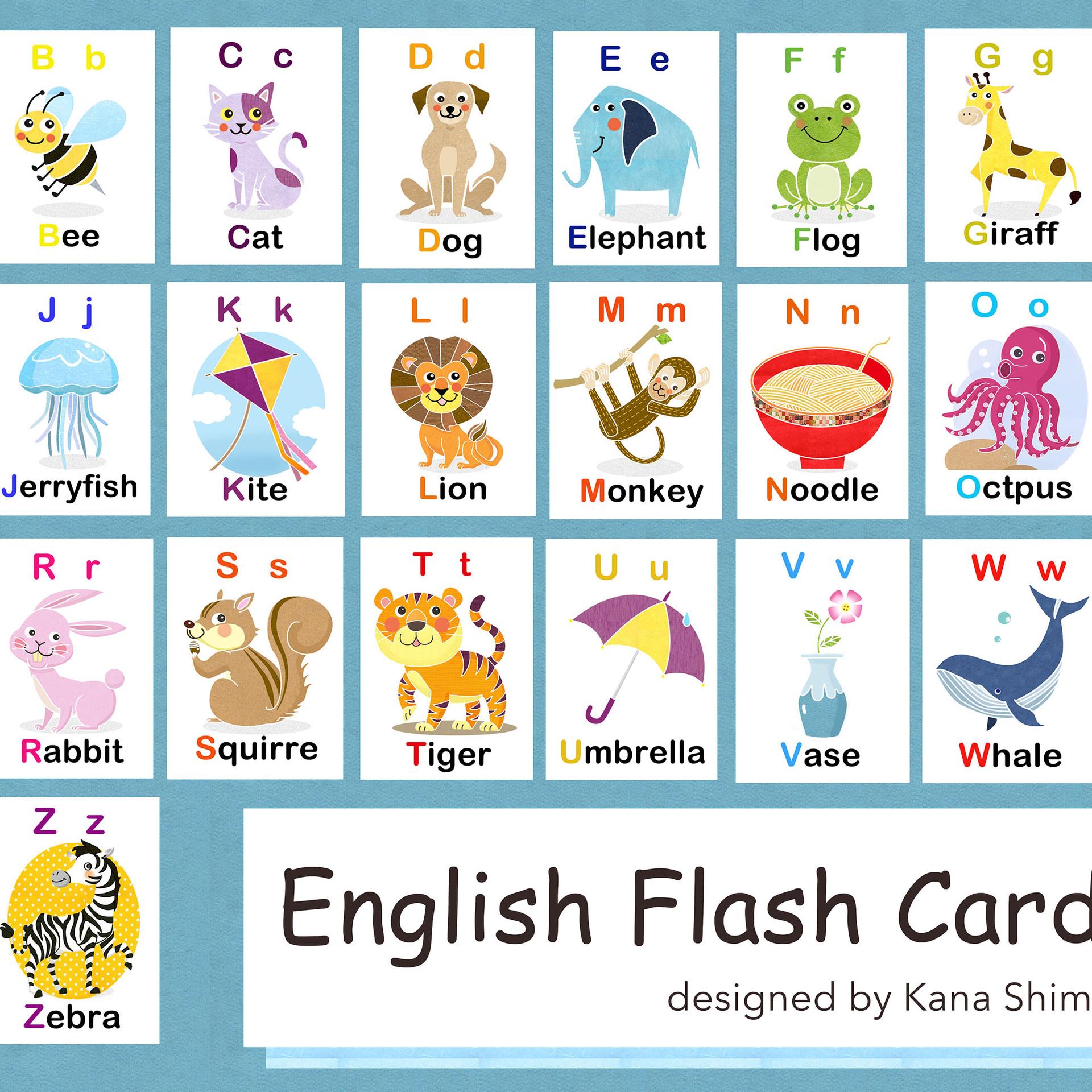 English Flash Cards