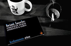 Brian Laurin_Kolumnen eins_Cover solo2.j