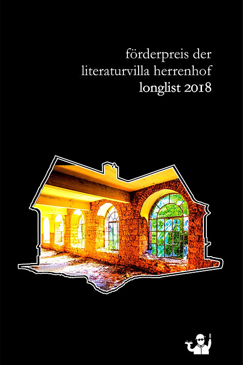 Longlist 2018 (Literaturvilla Herrenhof)