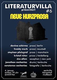 Literaturvilla #6_Januar 2018_Plakat Web